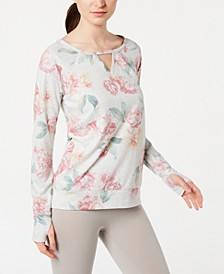 Printed Keyhole Top, Created for Macy's