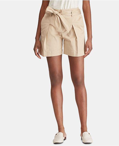 Lauren Ralph Lauren Twill Shorts