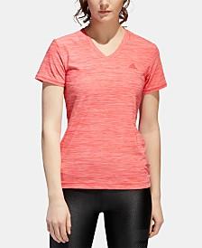 adidas ClimaLite® V-Neck T-Shirt