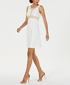 Pappagallo Sleeveless Shift Dress