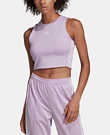 adidas Originals adicolor Cotton Cropped Tank Top
