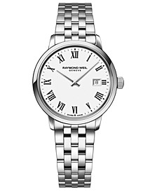 Women's Swiss Toccata Stainless Steel Bracelet Watch 29mm
