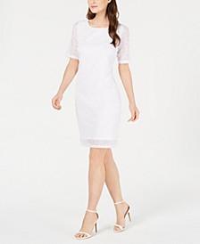 Petite Lace Sheath Dress, Created for Macy's