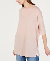 e36daf84ece Eileen Fisher Elbow-Sleeve Tunic Top