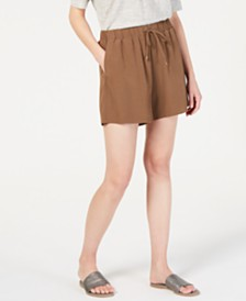 Eileen Fisher Tencel™ Drawstring Shorts