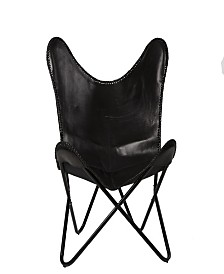 Mind Reader Butterfly Chair