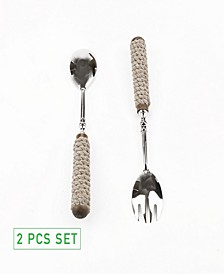 2 Piece Salad Utensil Set