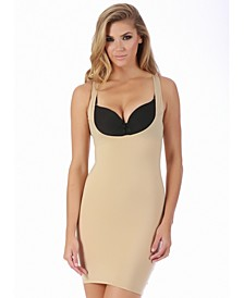 InstantFigure Compression Slimming Open Bust Slip Dress, Online Only