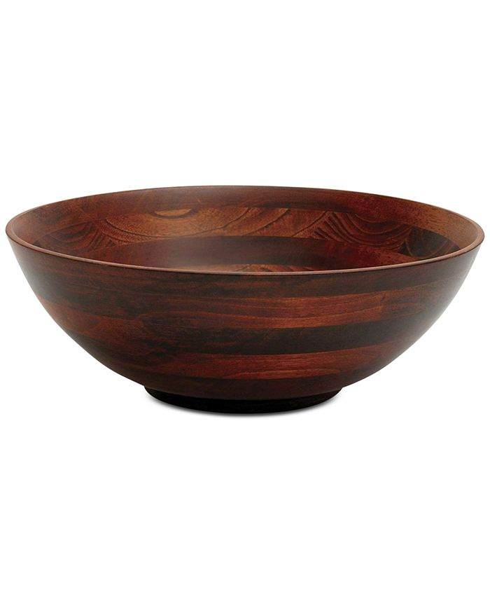 Lipper International - Cherry Finished Footed Bowl