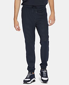 A|X Armani Exchange Men's Pinstripe Joggers