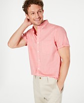 3f8d0990 Club Room Men's Stretch Performance Micro-Check Shirt, Created for Macy's