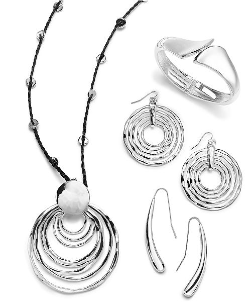 Robert Lee Morris Soho Silver-Tone Geometric Jewelry Separates