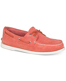 Men's A/O 2-Eye Suede Boat Shoes