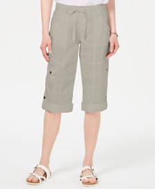 Style & Co Curvy Bermuda Shorts, Created for Macy's
