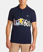 798865de Lacoste x Keith Haring Men's Classic-Fit Pique Graphic Polo Shirt