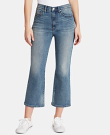 WILLIAM RAST Cropped Flare Jeans