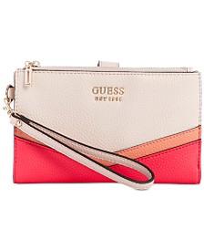GUESS Colette Double-Zip Organizer Wallet