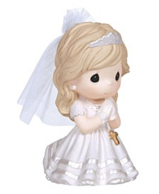 Remembrance Of My First Holy Communion Figurine, Girl