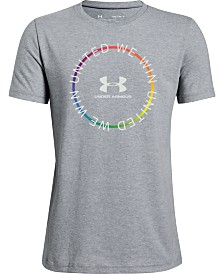 Under Armour Big Boys United We Win Pride T-Shirt