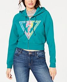 Originals Cropped Logo Hoodie
