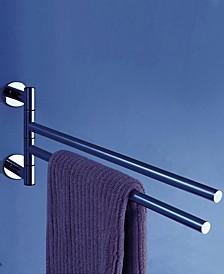 """General Hotel 14"""" Double Swivel Towel Bar"""