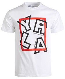 Young & Reckless Men's Detached Logo Graphic T-Shirt