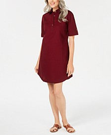 Petite Cotton Shirtdress, Created for Macy's