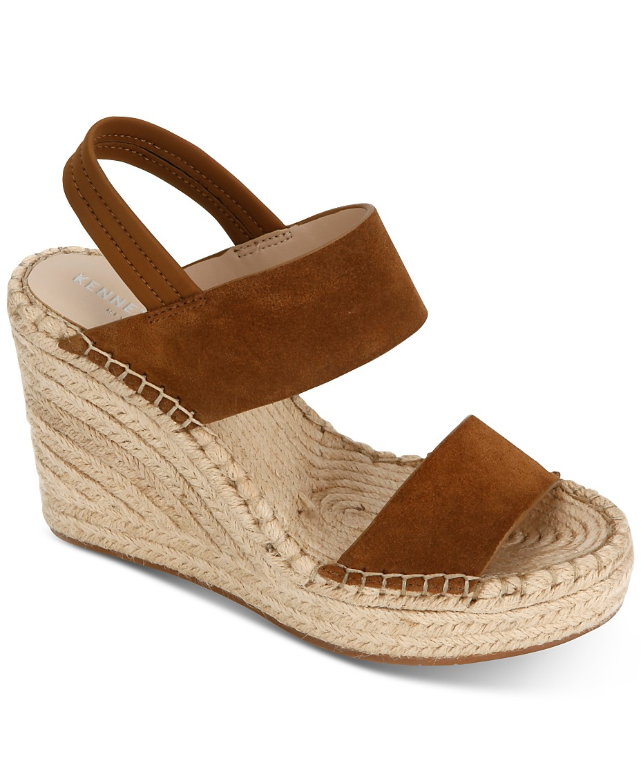 89755c7f48f Kenneth Cole New York Women's Olivia Simple Wedge Sandals & Reviews ...