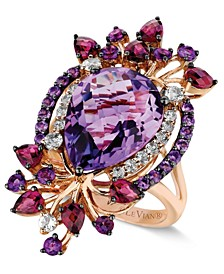 Crazy Collection® Multi-Stone Ring in 14k Strawberry Rose Gold (8 ct. t.w.)