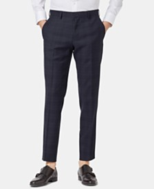 BOSS Men's Slim Fit Virgin Wool Pants
