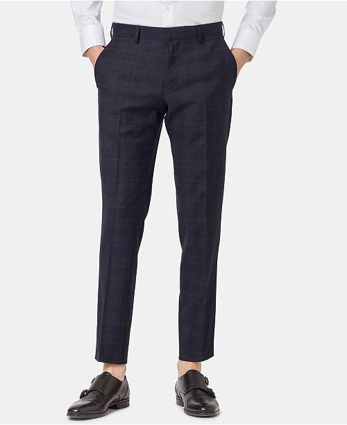 Hugo Boss BOSS Men's Slim Fit Virgin Wool Pants