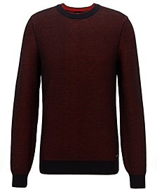 BOSS Men's Crew Neck Cotton Sweater