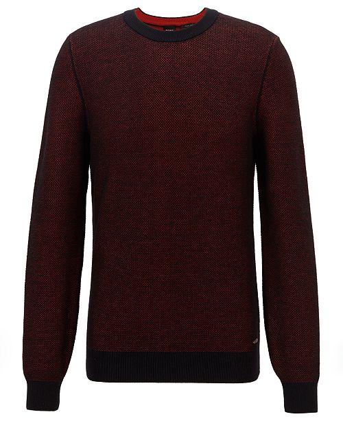 Hugo Boss BOSS Men's Crew Neck Cotton Sweater