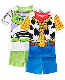 AME Little & Big Boys 2-Pack Toy Story Graphic Cotton Pajamas
