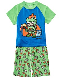 AME Little & Big Boys 2-Pc. Fortnite Graphic Pajamas