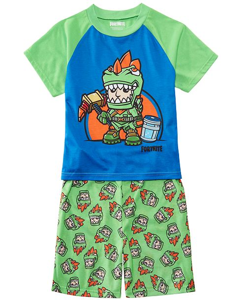 Little & Big Boys 2-Pc  Fortnite Graphic Pajamas