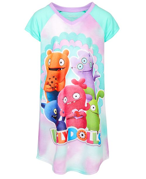 AME Little & Big Girls Ugly Doll Graphic Nightgown