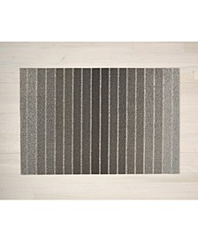 "Block Stripe Shag Doormat - 18"" x 28"""
