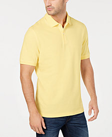 Club Room Men's Classic Fit Performance Pique Polo, Created for Macy's