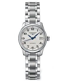 Longines Women's Swiss Automatic Master Stainless Steel Bracelet Watch 26mm L21284786