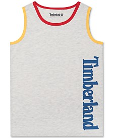 Timberland Big Boys Newfields Colorblocked Logo Tank