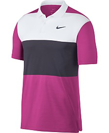 Nike Men's Vapor Colorblocked Golf Polo