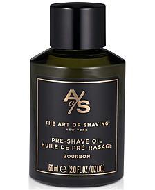 The Art of Shaving Bourbon Pre-Shave Oil, 2-oz.