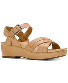 Leila Wedge Sandals