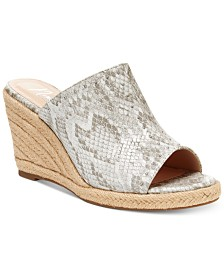 Nanette by Nanette Lepore Quinton Wedge Sandals, Created for Macy's