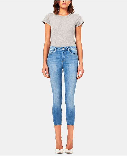DL 1961 Farrow Cropped Jeans