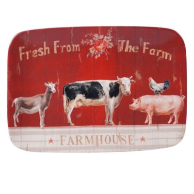 Farmhouse Rect Platter