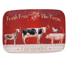 Certified International Farmhouse Rect Platter