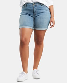 Levi's® Trendy Plus Size Denim Shorts