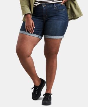 Levi's Shorts TRENDY PLUS SIZE DENIM SHORTS